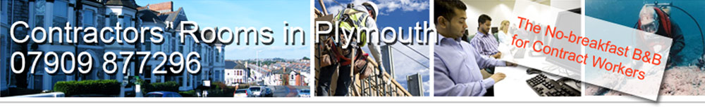 Rooms in Plymouth - for contract workers